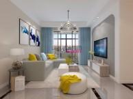 合肥山水装饰公司 华邦观筑里100平房子装修北欧风格