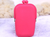 厂家直销硅胶零钱包 女 韩国可爱 钥匙包 手机包 化妆包超人气