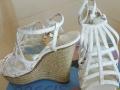 安玛莉头层羊皮凉鞋