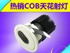 优质供应 商业照明外壳 室内照明灯具配件 10Wcob射灯外壳 直销