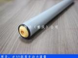 武汉无动力橡胶滚筒4040铝型材厂家打包机滚筒线