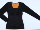保暖背心女加厚加绒女士塑身保暖上衣外穿保暖衣长袖保暖内衣