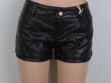皮短裤女式羽绒棉加厚短裤 韩版潮靴裤 水洗皮热裤包臀修身显瘦