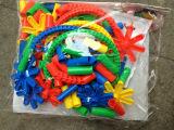 管状积木 益智拼插玩具 动手动脑益智游戏玩具