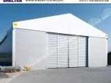 仓储工业篷房搭建设计-仓储物流车间篷房帐