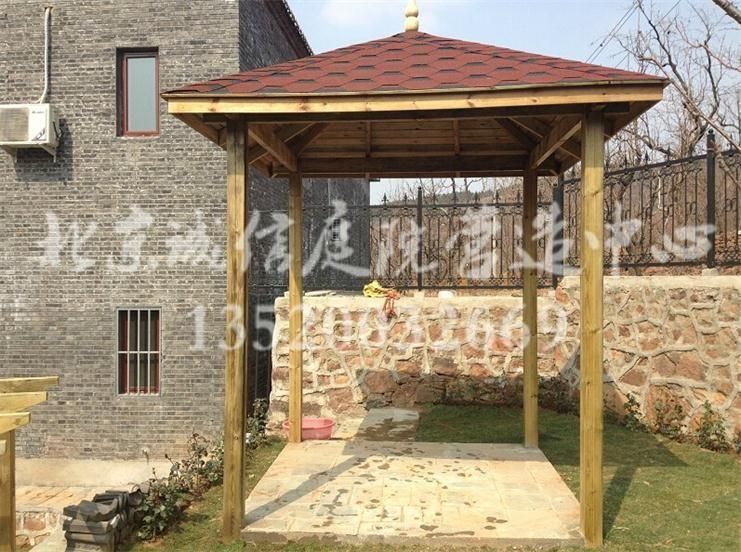北京私家 别墅花园设计 专业设计制作庭院别墅花园