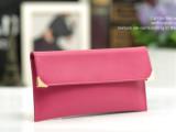 厂家直销2013新款女包长款女士钱包超薄钱夹真皮信封包牛皮卡包