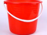 厂家直销塑料桶 34 家用塑料包装容器 学生用多用红色水桶批发