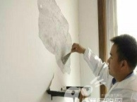 北七家房屋翻新 昌平办公室装修翻新 玻璃隔断 装灯