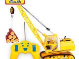 儿童工程车遥控玩具 无线遥控车大吊车