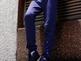 男式运动裤 休闲针织长裤男纯棉单裤 卫衣裤厂家一件代发批发