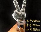 西安高档水晶奖杯奖牌 大拇指奖杯制作 西安水晶礼品
