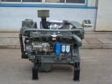 潍坊鸿泰R4105ZP柴油机带离合器水泥罐车专用新品上市
