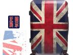 拉杆箱万向轮行李箱旅行箱男女通用 复古英伦英国国旗拉杆箱批发