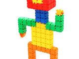 小嘟嘟塑料拼插积木拼装玩具早教儿童学习益智玩具百变积木