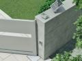 车库门电机价格行情 自动智能遥控翻板车库门电机