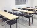 见证黄金品质学生课桌培训桌折叠桌书桌单人双人三人
