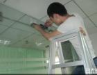 玻璃门锁维修 办公室璃门门地弹簧维修 玻璃门维修配件