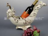 高档牙瓷家居饰品 工艺礼品 陶瓷酒架 陶瓷摆件