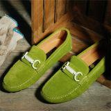 欧洲站外贸品牌真皮反绒皮单鞋时尚休闲男鞋支持一件代发