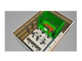 虚拟蓝箱拍摄棚 抠像绿箱拍摄录制室
