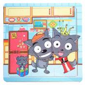 【厂家直销】益智玩具儿童拼图拼板9片拼图玩具木质拼图拼图批发