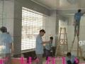 承接家庭公司、开荒保洁擦玻璃订做各种金钢网防盗纱窗