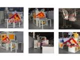 浙江腾博电子产品喷砂机,通讯部件自动喷砂机设备