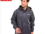 批正品暨阳龙 男套装 休闲单色雨衣 双层摩托车 雨衣厂 工地雨衣