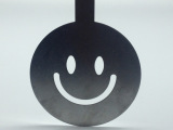 花式拉花模 撒粉咖啡造型 不锈钢印花模具 笑脸形状