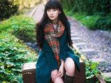 森女系2014冬装学生中长款双排扣毛呢大衣英伦风夹棉加厚呢子外套