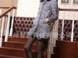 2013冬季新款甜美学院中长款韩版羽绒服