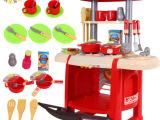 【供应】贝恩施儿童过家家餐具台厨房厨具玩具套装餐具台A3灯光
