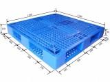 德州大量生产化工化肥专用塑料托盘1210田子网格