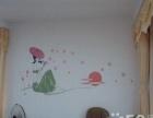 喜庆背景墙,模具 绘 墙画墙就是一幅生动的画