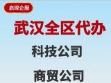 武汉公司注册 代理记账 全市代理服务