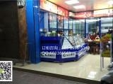 超市烤漆收银台烟酒展柜香菸柜台钢化玻璃烟柜摆放物品陈列柜子