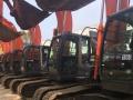 阳江二手挖掘机出售质保三个月保运输小松卡特日立神钢沃尔