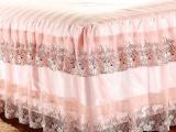 批发销售夏凉韩版蕾丝花边床罩 蕾丝床笠床