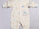 婴儿纯棉连体衣哈衣新生儿可爱卡通印花男女宝宝棉衣保暖哈衣