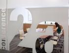 前台背景/形象墙,墙体喷绘,亚克力/水晶字 发光字