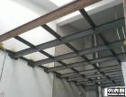 南昌专业搭彩钢瓦 车棚 店面隔层 厂房隔热层 雨棚
