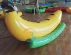 供應各種好玩的水上浮具如香蕉船壓壓板蹦床