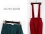 2014新款出口外贸针织两用短裙