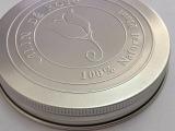 大规格本色铝盖,铝合金盖子,特大铝盖,100直径本色铝盖