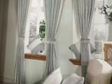 窗帘杆安装维修 窗帘定制安装 遮光窗帘定做