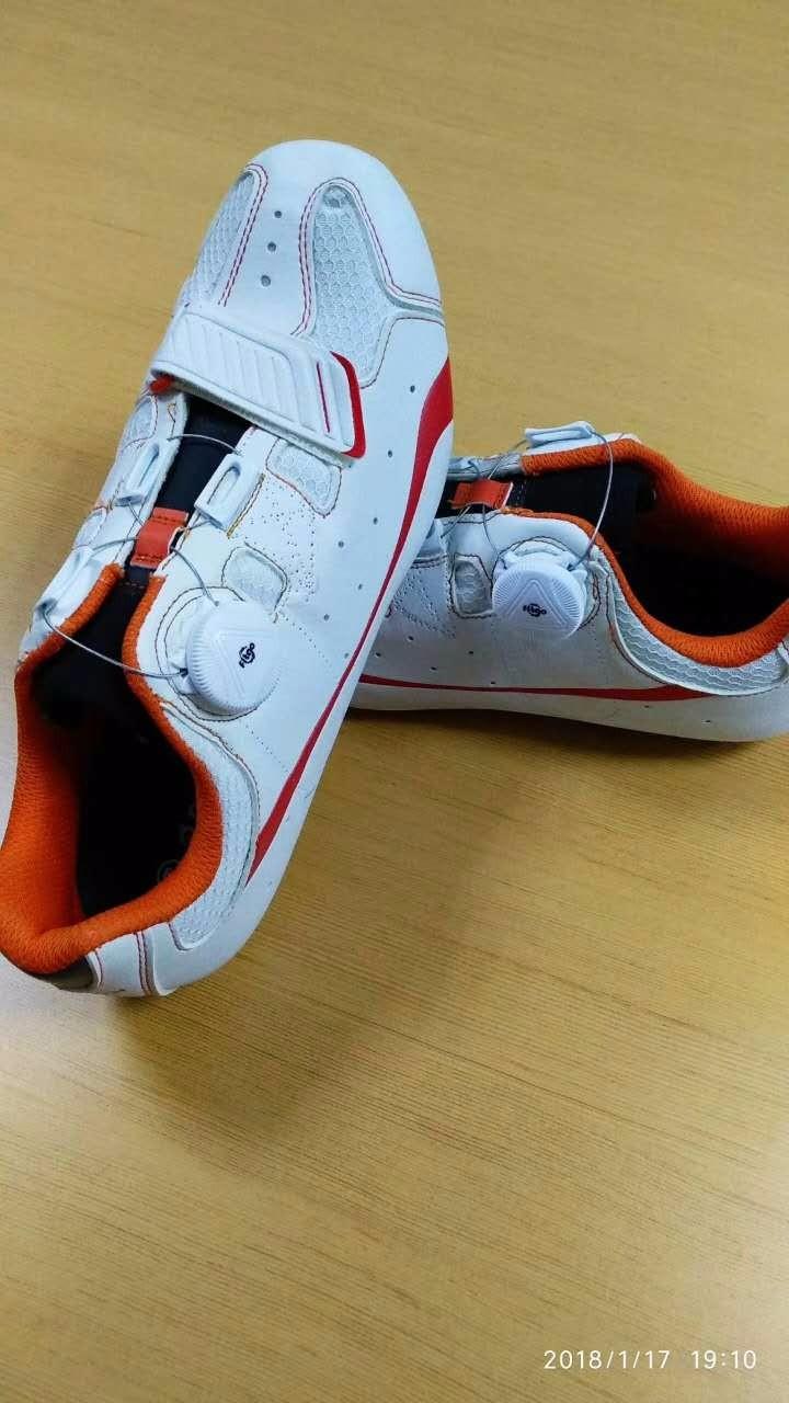 Fitgo旋钮鞋扣旋转锁紧扣钢丝鞋带