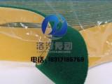 背胶绿绒包辊布