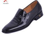 批发销售红蜻蜓漆皮亮皮鞋男士商务正装皮鞋 真皮男单鞋 品牌皮鞋