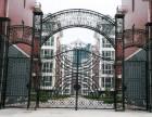 天津铁艺大门铁艺围栏制作安装 东丽区铁艺牌楼价格